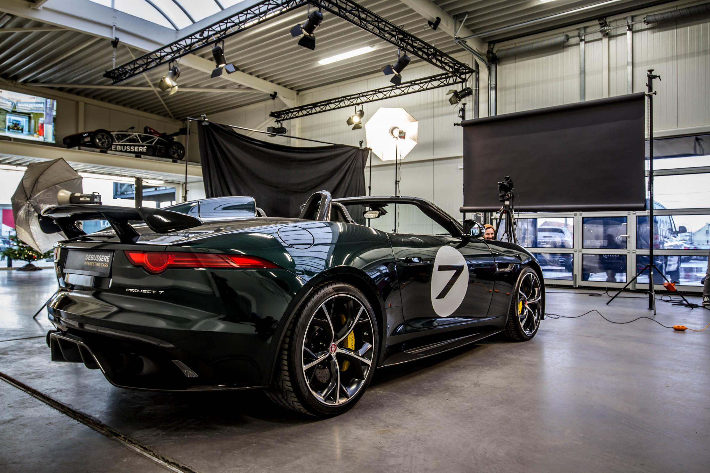 Jaguar Project 7 als decor voor lenticular project!